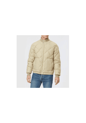 19c5812325ba Nigel Cabourn X Peak Performance 2.0 Men s Short Down Jacket - Mountain  Stone - L -