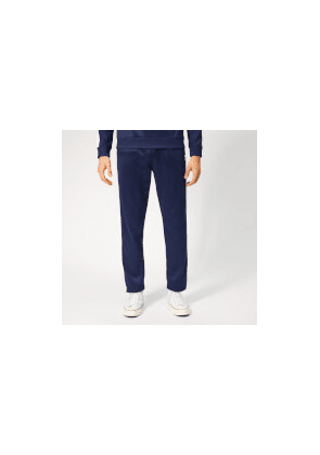AMI Men's Contrast Band Trackpants - Navy - M - Blue