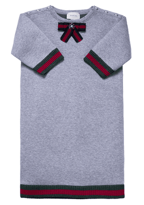 Gucci Kids Sweatshirt dress with bow