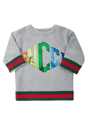 Gucci Kids 'Web' motif dress