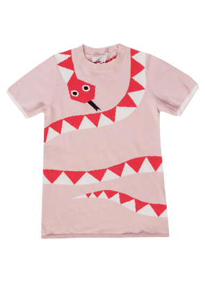 Stella McCartney Kids Snake motif dress