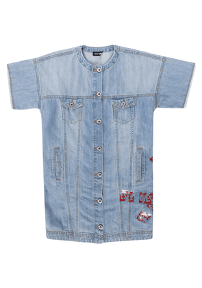 Diesel Short sleeve denim dress