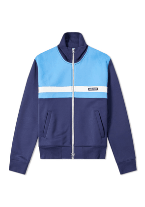 AMI Zip Through Track Top