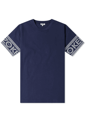 56fe9d1b Kenzo Floral Logo Tee Navy | MILANSTYLE.COM