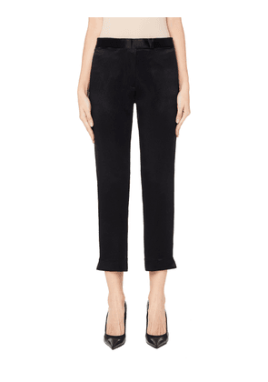 Ann Demeulemeester Black Cropped Trousers