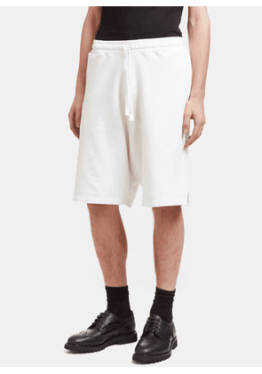 Aiezen AIEZEN Men's Soft Cotton Bermuda Shorts in White size S