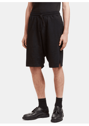Aiezen AIEZEN Men's Virgin Wool Blend Shorts in Black size M