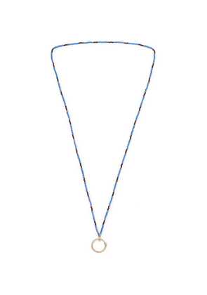 Gucci - Beaded Gold-tone Necklace - White