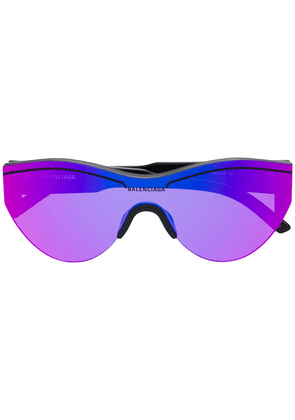 Balenciaga Ski cat sunglasses - Purple