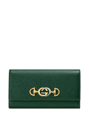 Gucci Gucci Zumi continental wallet - Green