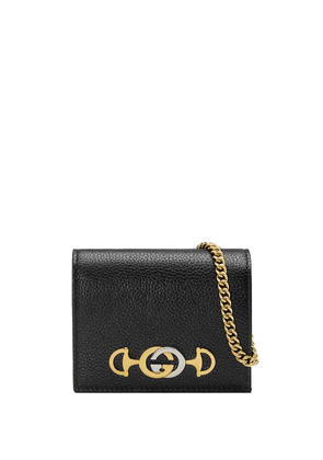 Gucci Gucci Zumi card case - Black