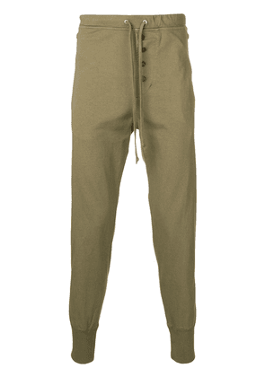 Isabel Marant relaxed fit track pants - Green