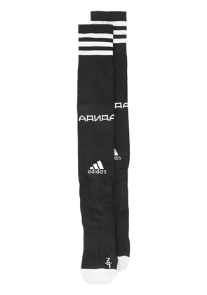Gosha Rubchinskiy stripe detail socks - Black