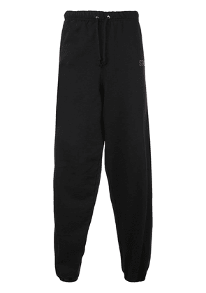 Stadium Goods embroidered logo track trousers - Black