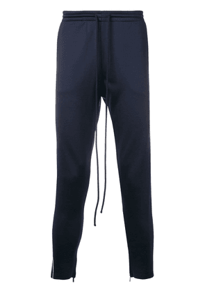 Valentino side logo track pants - Blue