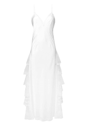 Antonio Marras bridal slip dress - White