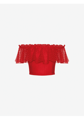 ALEXANDER MCQUEEN KNITTED TOPS - Item 12245008
