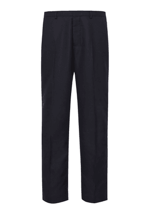 AMI Straight-Leg Wool Dress Pants