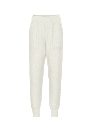 Wool trackpants
