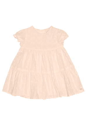 Baby broderie anglaise cotton dress