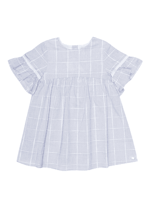 Baby checked cotton dress