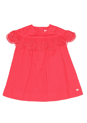 Baby embroidered cotton dress