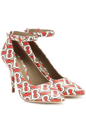 Wiltkin printed leather pumps