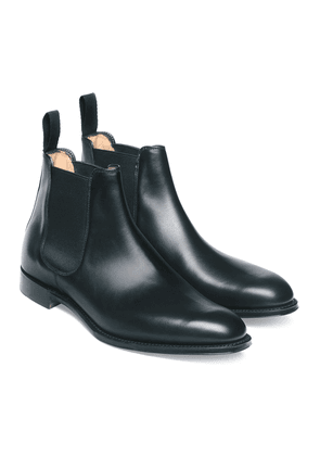 Cheaney Black Leather Threadneedle Chelsea Boot