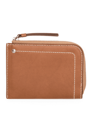Tan Leather Small Wallet