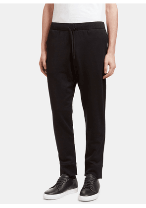 Aiezen AIEZEN Men's Virgin Wool Blend Jogging Pant in Black size M