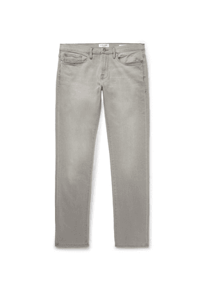 FRAME - L'homme Slim-fit Stretch-denim Jeans - Gray