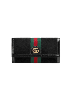 Gucci Ophidia continental wallet - Black