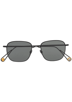 Ahlem 22k gold plated Place Blanche sunglasses - Black