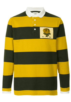 Kent & Curwen striped rugby polo shirt - Green