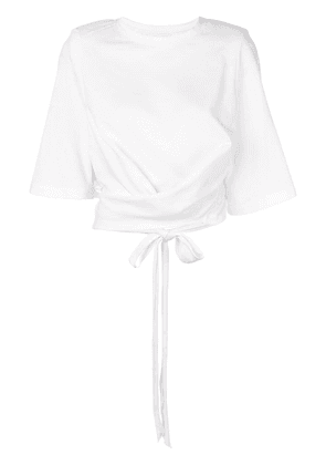 Circus Hotel cropped T-shirt - White
