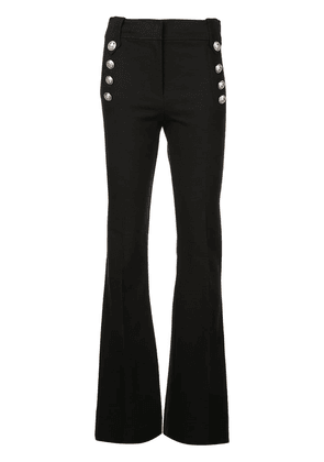 Derek Lam 10 Crosby Robertson Flare Trouser with Sailor Buttons -