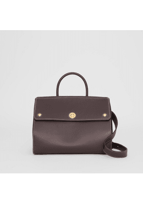 Burberry Small Leather Elizabeth Bag, Brown