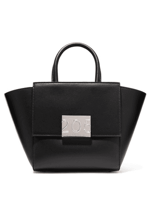 CALVIN KLEIN 205W39NYC - Bonnie Mini Canvas-trimmed Leather Tote - Black