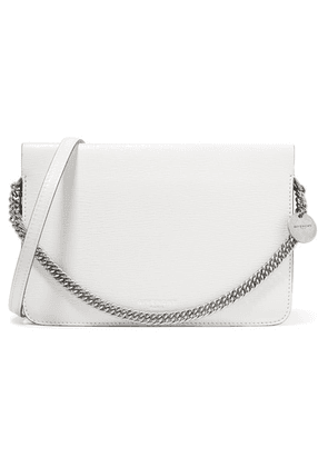Givenchy - Cross3 Two-tone Textured-leather And Suede Shoulder Bag - White