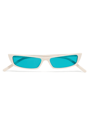 Acne Studios - Agar Square-frame Acetate Sunglasses - White