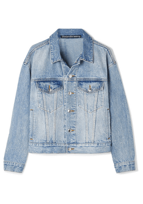 Alexander Wang - Game Distressed Denim Jacket - Mid denim
