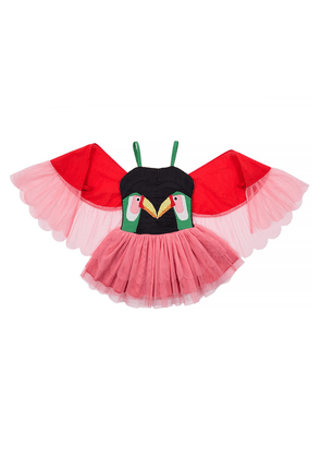 Stella McCartney Kids Tulle dress with wings