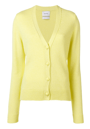 Barrie V-neck cardigan - Yellow