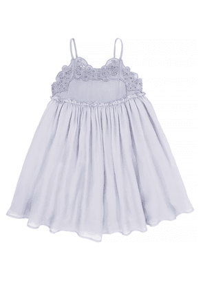 Stella McCartney Kids Dress with a lace insert