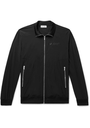 Palm Angels - Slim-fit Logo-print Tech-jersey Track Jacket - Black
