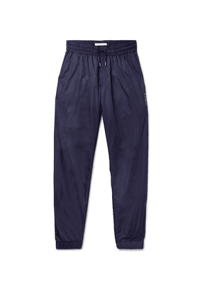 Givenchy - Slim-fit Tapered Shell Track Pants - Blue