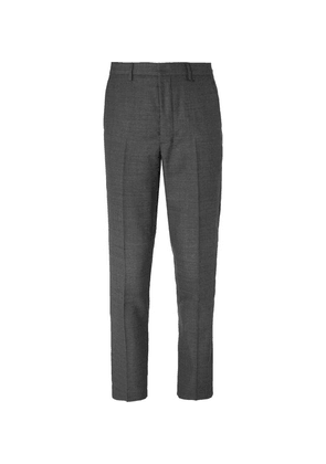 AMI - Grey Slim-fit Wool Suit Trousers - Gray