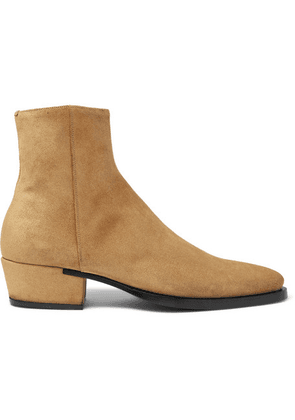 Givenchy - Dallas Suede Boots - Beige