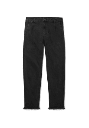 424 - Distressed Denim Jeans - Black