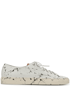 Buttero paint splatter sneakers - White